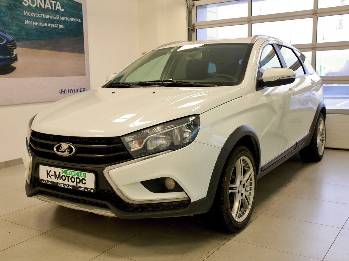 2018 LADA (ВАЗ) Vesta  I SW Cross, белый