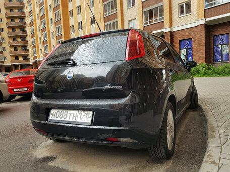 Купить FIAT Punto пробег 207 100.00 км 2006 год выпуска