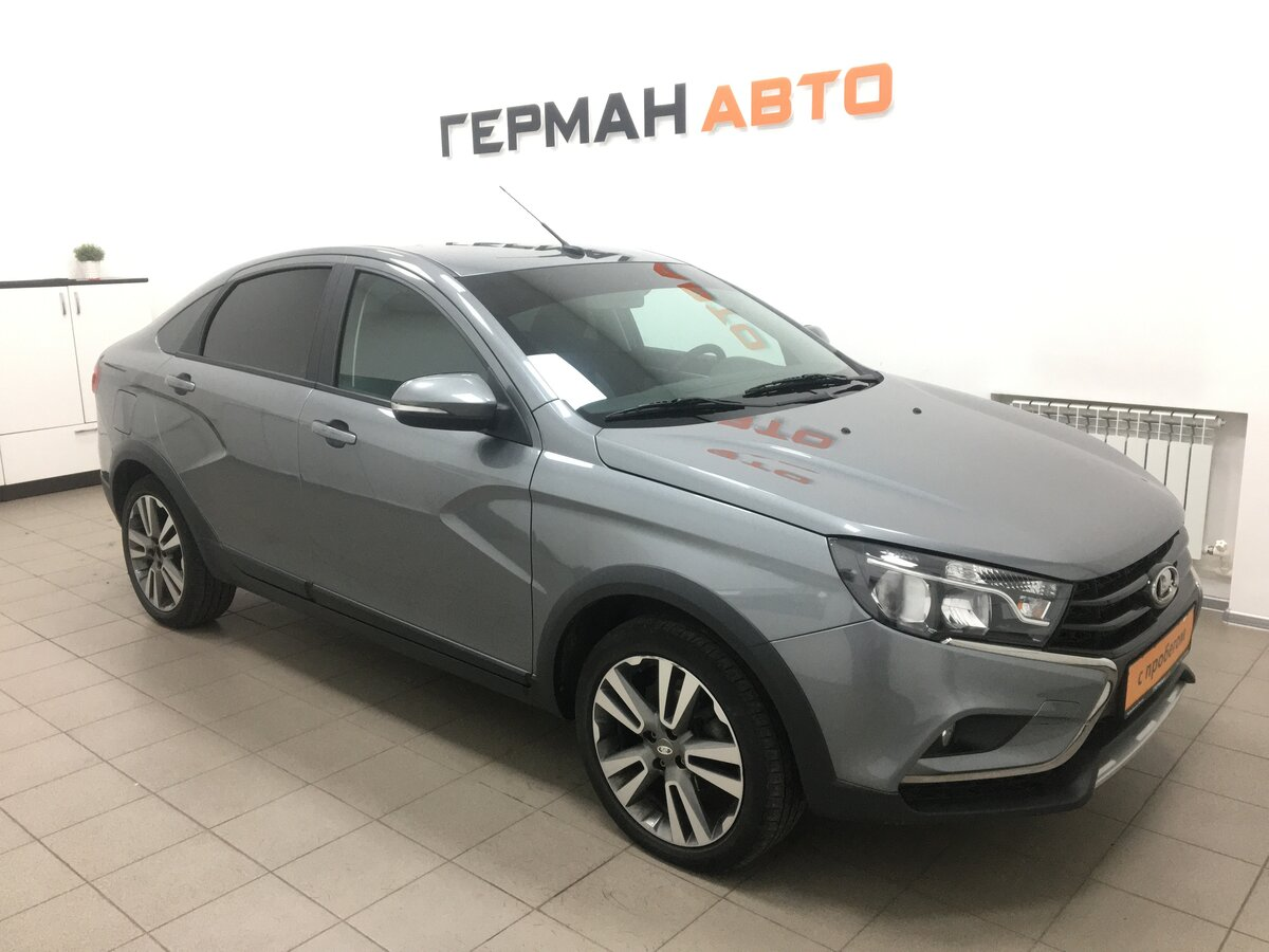 2019 LADA (ВАЗ) Vesta  I Cross, серебристый