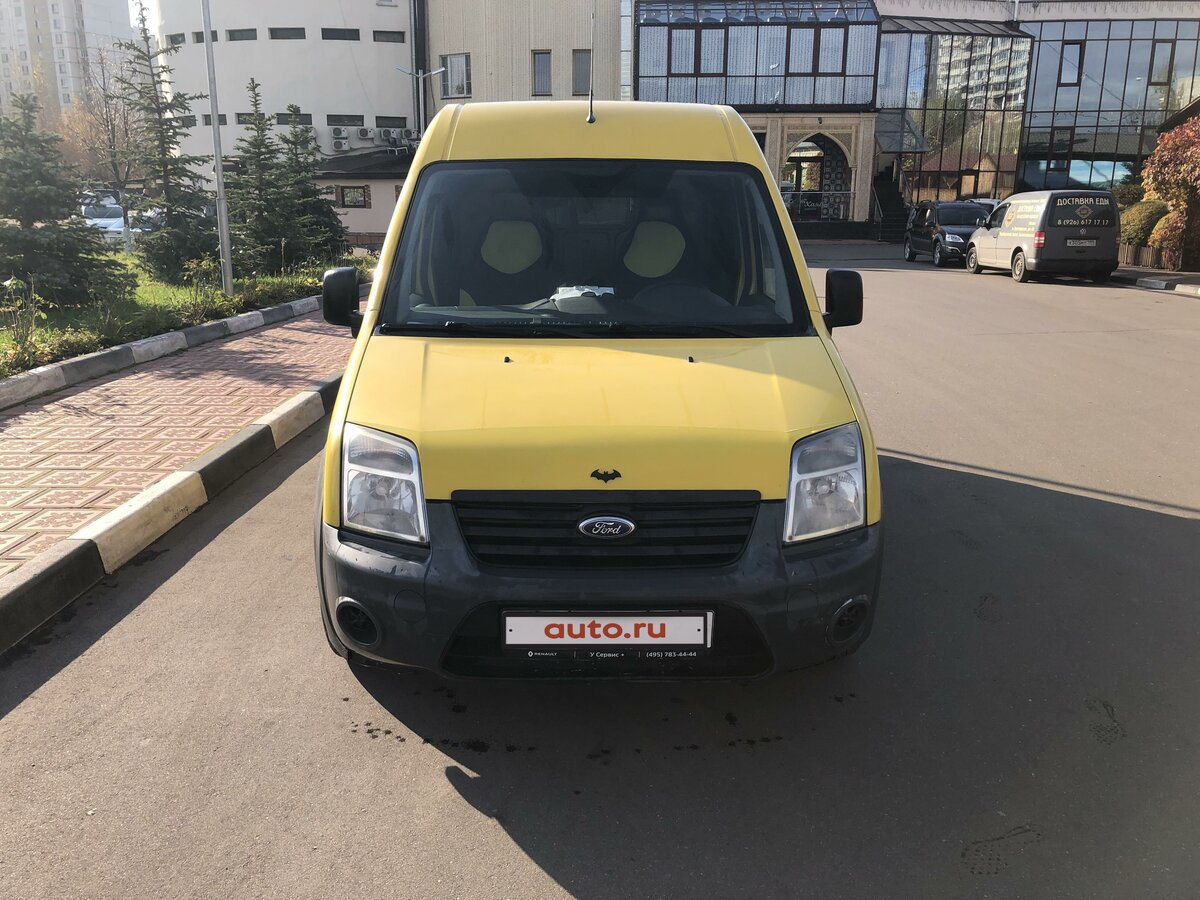 2010 Ford Transit Connect, жёлтый - вид 1