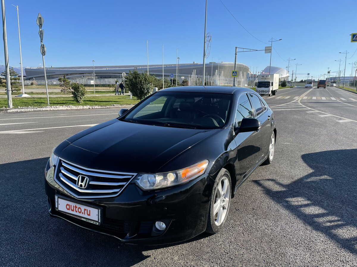 2008 Honda Accord  VIII, чёрный