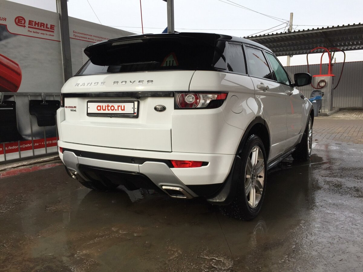 2013 Land Rover Range Rover Evoque  I 9-speed, белый, 1949000 рублей - вид 5
