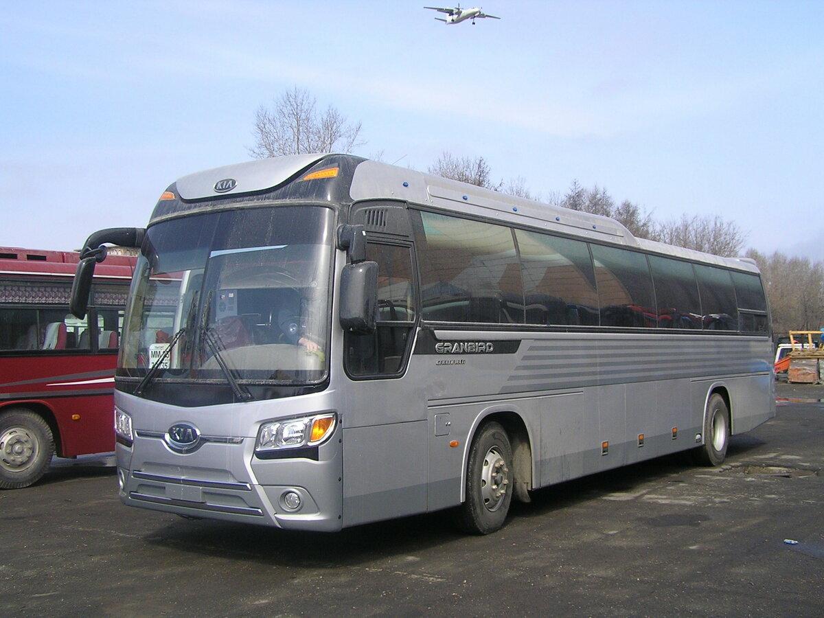 первого дня автобус киа грандберд фото съемка заранее