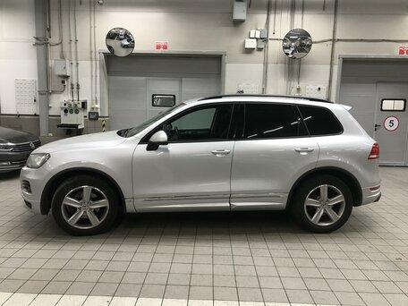 Купить Volkswagen Touareg пробег 110 500.00 км 2014 год выпуска