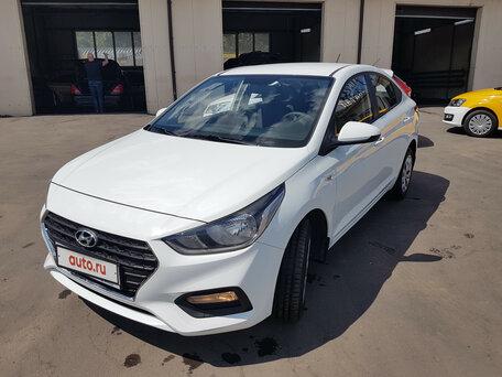 Купить Hyundai Solaris пробег 33 318.00 км 2018 год выпуска