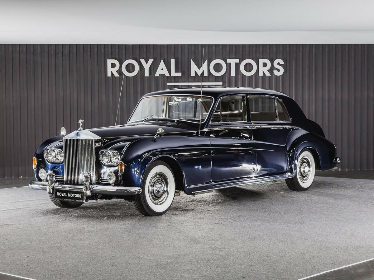 1965 Rolls-Royce Phantom  V, синий