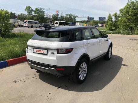 Купить Land Rover Range Rover Evoque пробег 60 000.00 км 2017 год выпуска