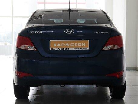 Купить Hyundai Solaris пробег 61 000.00 км 2015 год выпуска