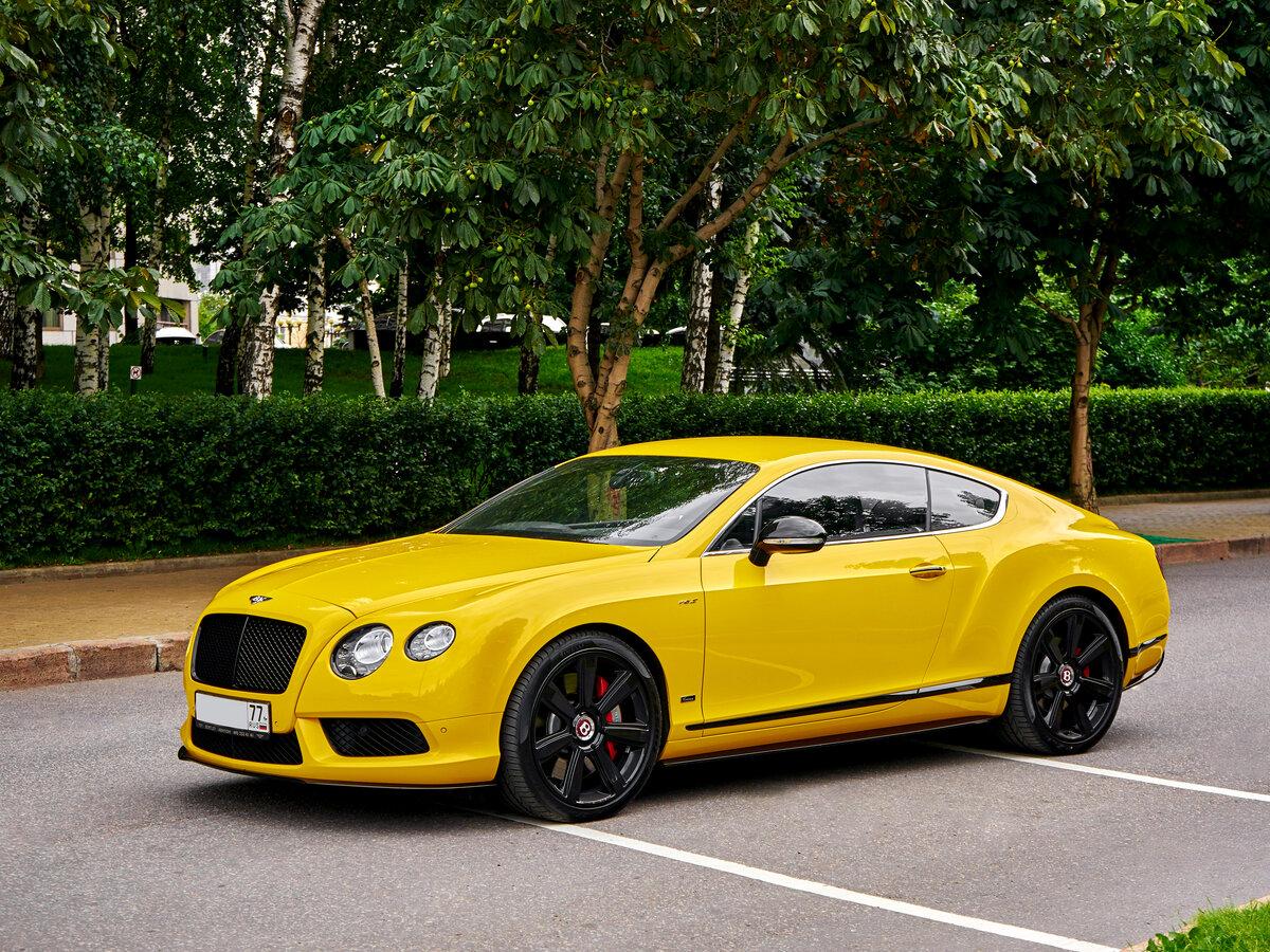 иногда желтые машины фото крупные