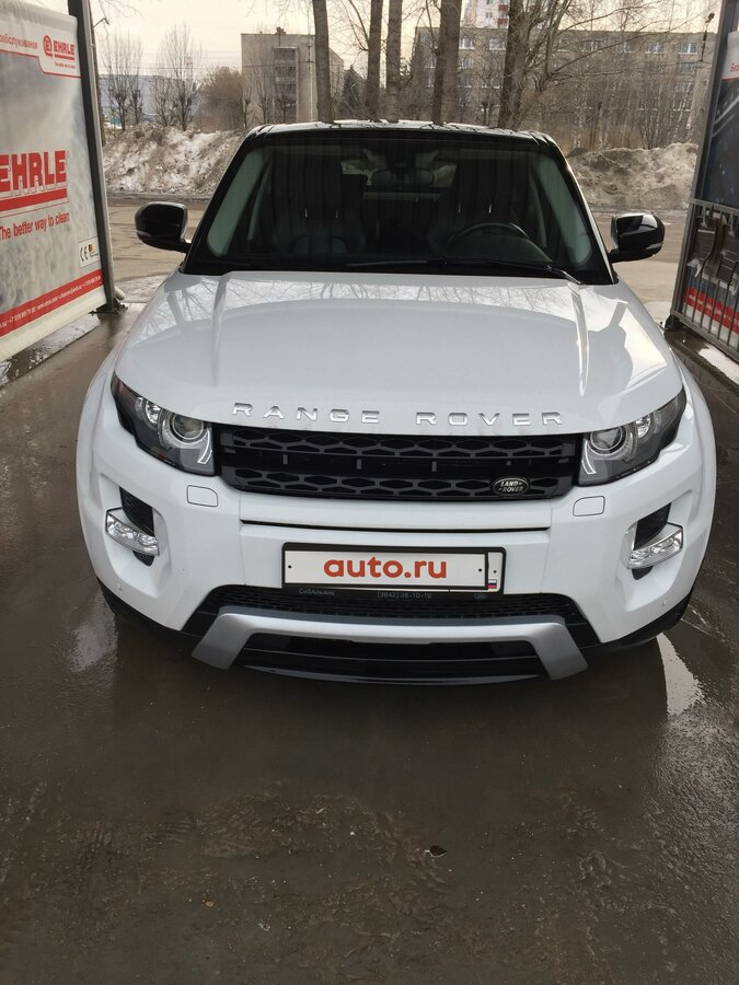 2013 Land Rover Range Rover Evoque  I 9-speed, белый, 1949000 рублей - вид 2