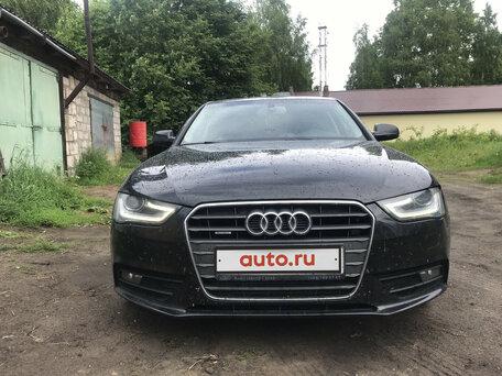 Купить Audi A4 пробег 121 000.00 км 2014 год выпуска