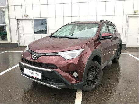 Купить Toyota RAV 4 пробег 9 888.00 км 2018 год выпуска