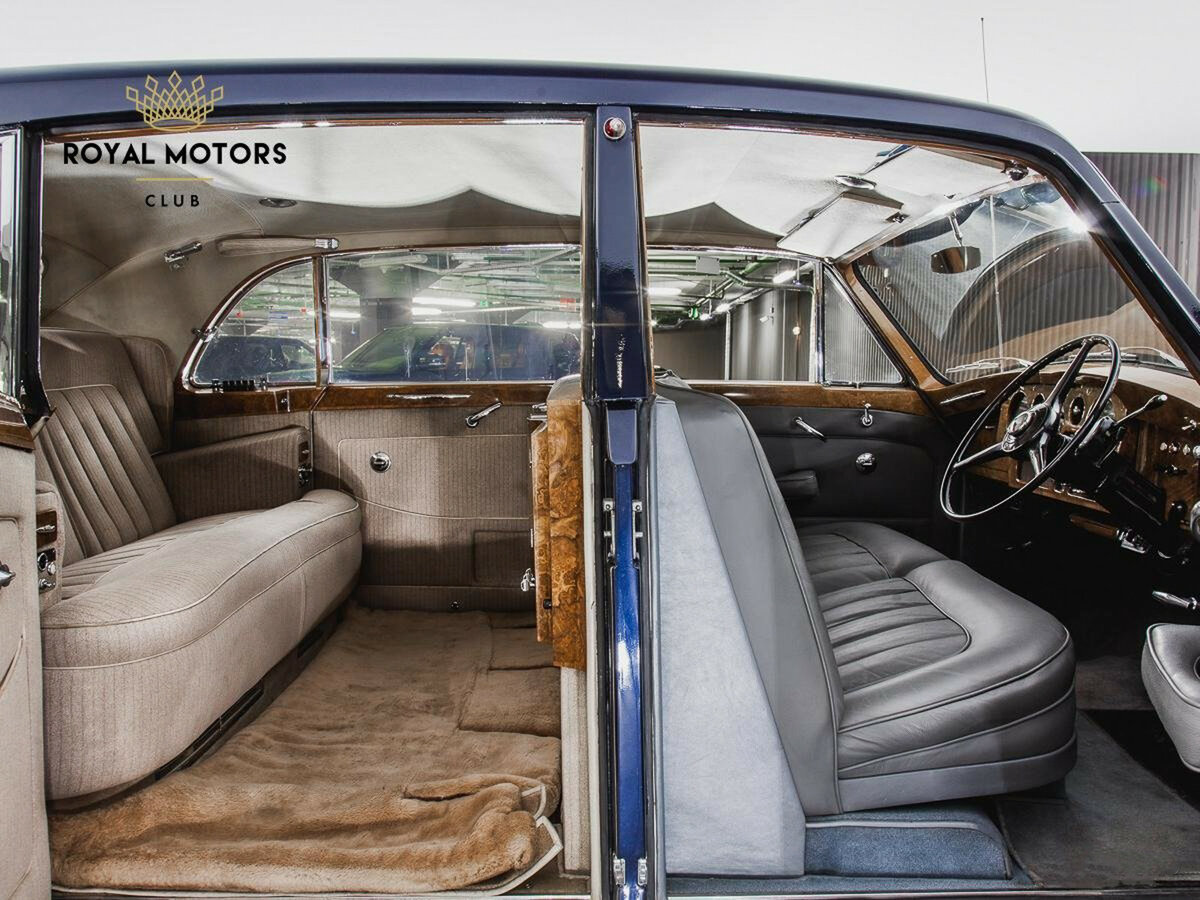 1965 Rolls-Royce Phantom  V, синий - вид 5
