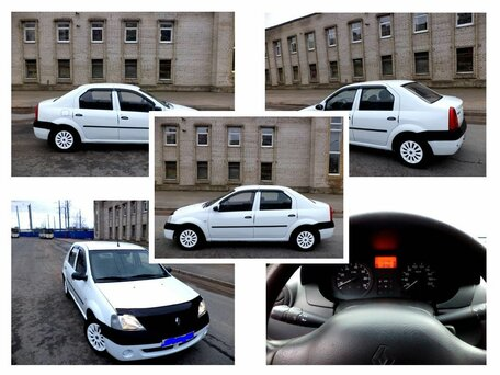 Купить Renault Logan пробег 170 000.00 км 2007 год выпуска