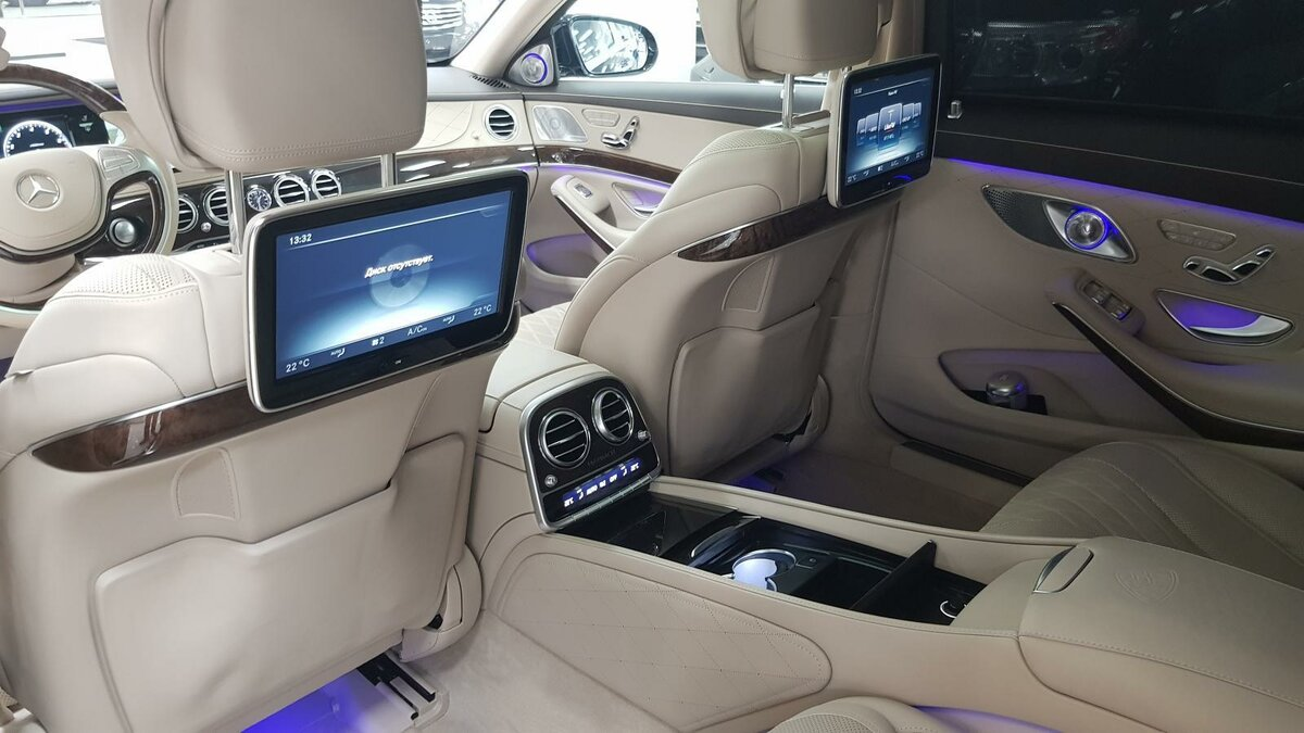 2015 Mercedes-Benz Maybach S-Класс  I (X222) 500, синий, 4492000 рублей - вид 18