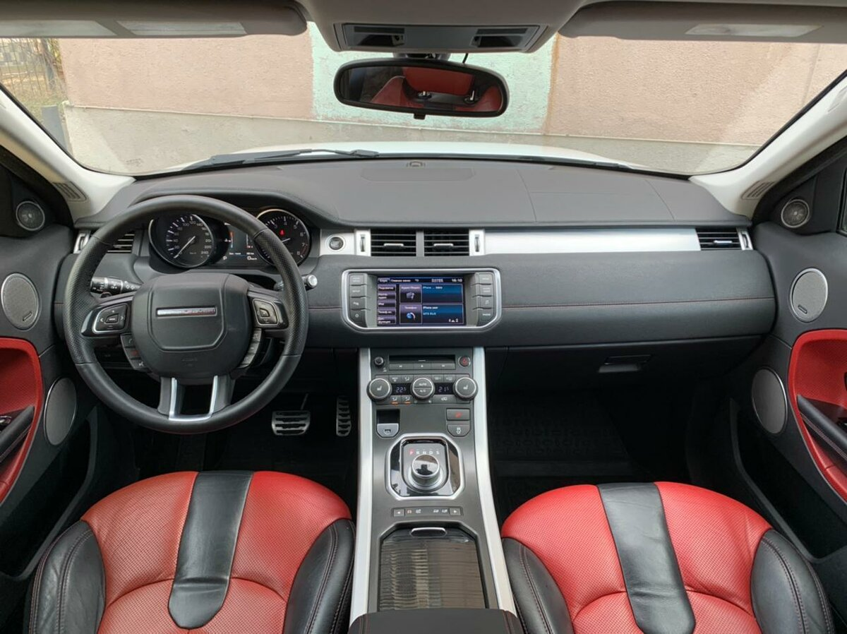 2012 Land Rover Range Rover Evoque  I 6-speed, белый, 1290000 рублей - вид 6