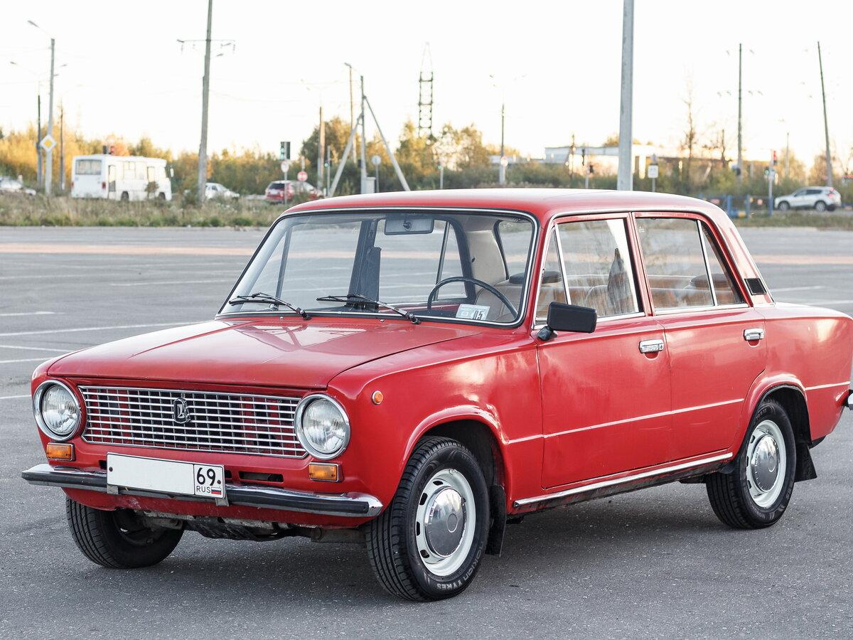 Автомобиль красная копейка фото