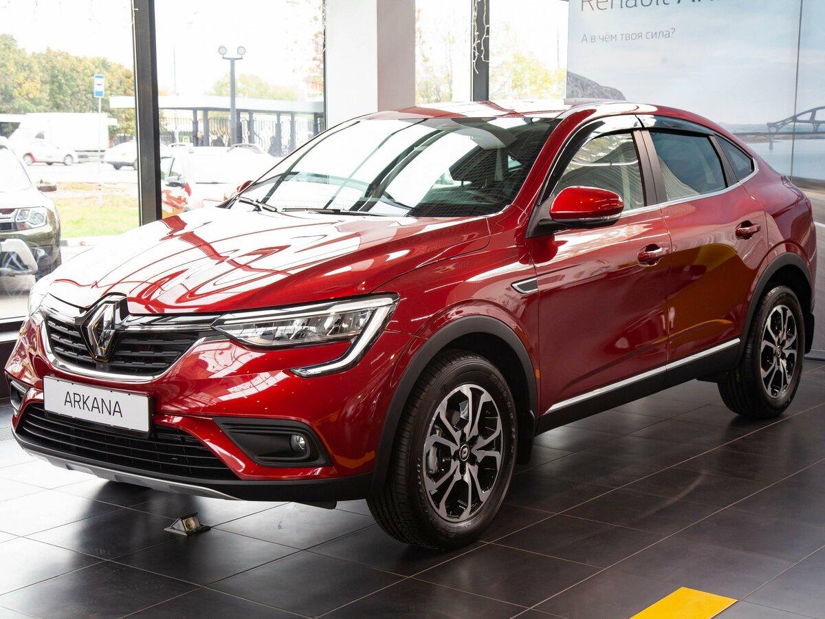 Смотрите, какая машина: новый Renault Arkana I 2019 года за 1499950 рублей на Авто.ру!