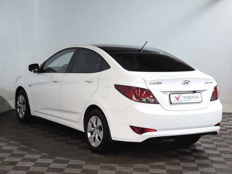 Купить Hyundai Solaris пробег 63 514.00 км 2014 год выпуска