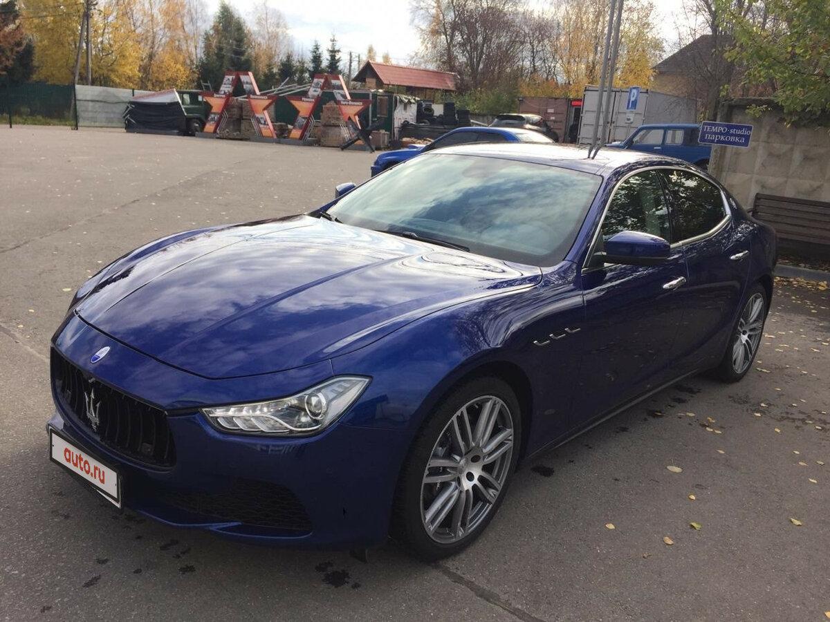 Купить б/у Maserati Ghibli III Рестайлинг 3.0 AT (350 л.с.) бензин автомат в Павловской Слобода ...