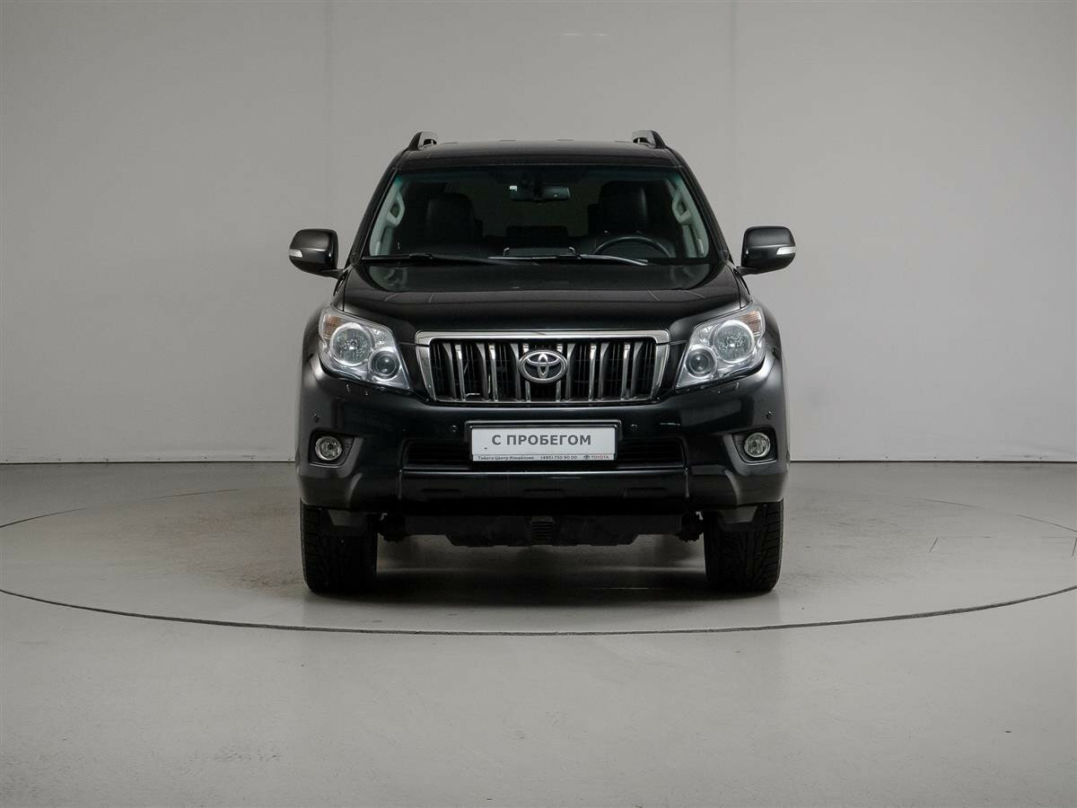 2012 Toyota Land Cruiser Prado  150 Series, чёрный - вид 1