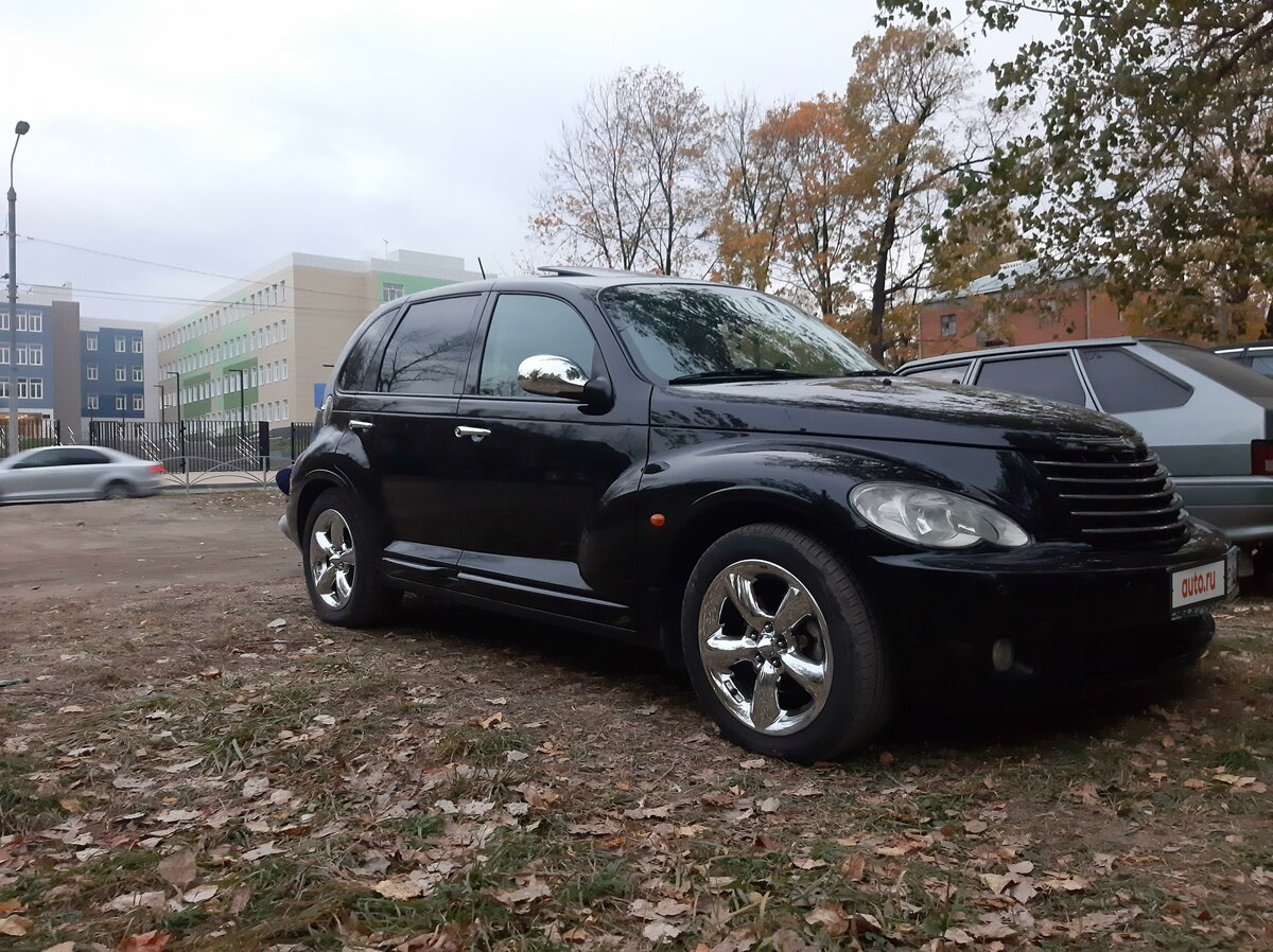 2006 Chrysler PT Cruiser , чёрный - вид 3