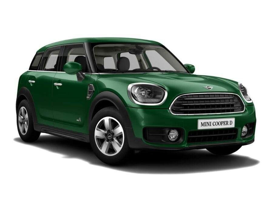 2020 MINI Countryman  II Cooper D, зелёный, 2692300 рублей