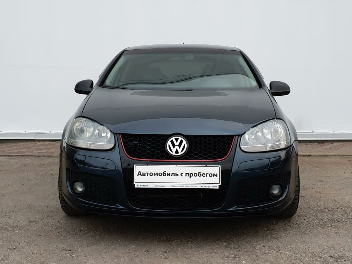 2006 Volkswagen Golf  V, синий - вид 3