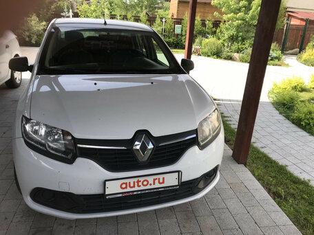Купить Renault Logan пробег 89 000.00 км 2017 год выпуска