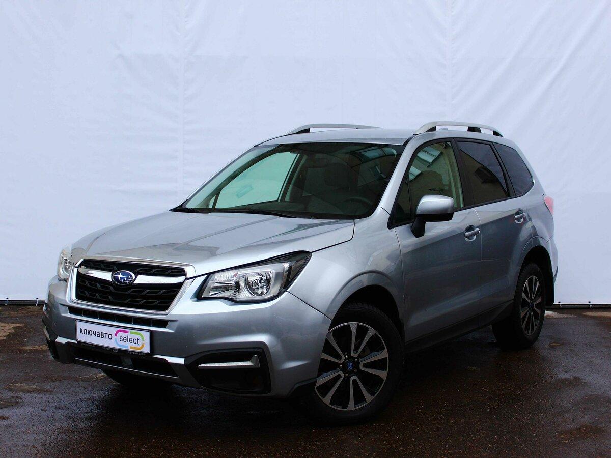 Смотрите, какая машина: Subaru Forester IV Рестайлинг 2 2018 года за 1499900 рублей на Авто.ру!