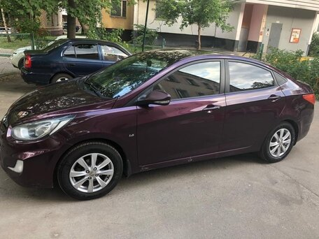 Купить Hyundai Solaris пробег 115 000.00 км 2011 год выпуска