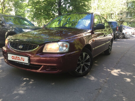 Купить Hyundai Accent пробег 123 000.00 км 2006 год выпуска
