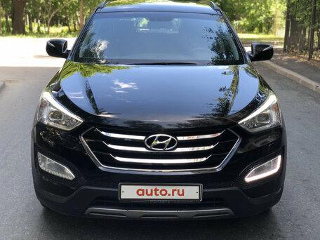 Купить Hyundai Santa Fe пробег 131 900.00 км 2013 год выпуска
