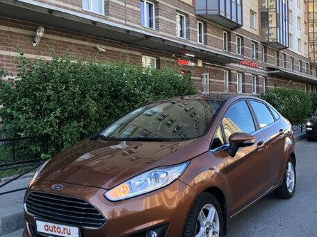 Купить Ford Fiesta пробег 35 000.00 км 2015 год выпуска