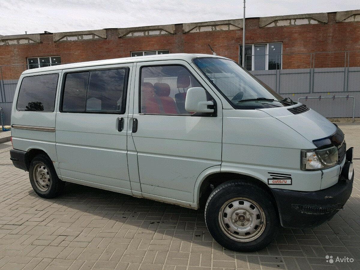 Фольксваген транспортер 4 5 лет продажа авто на авито фольксваген транспортер т3