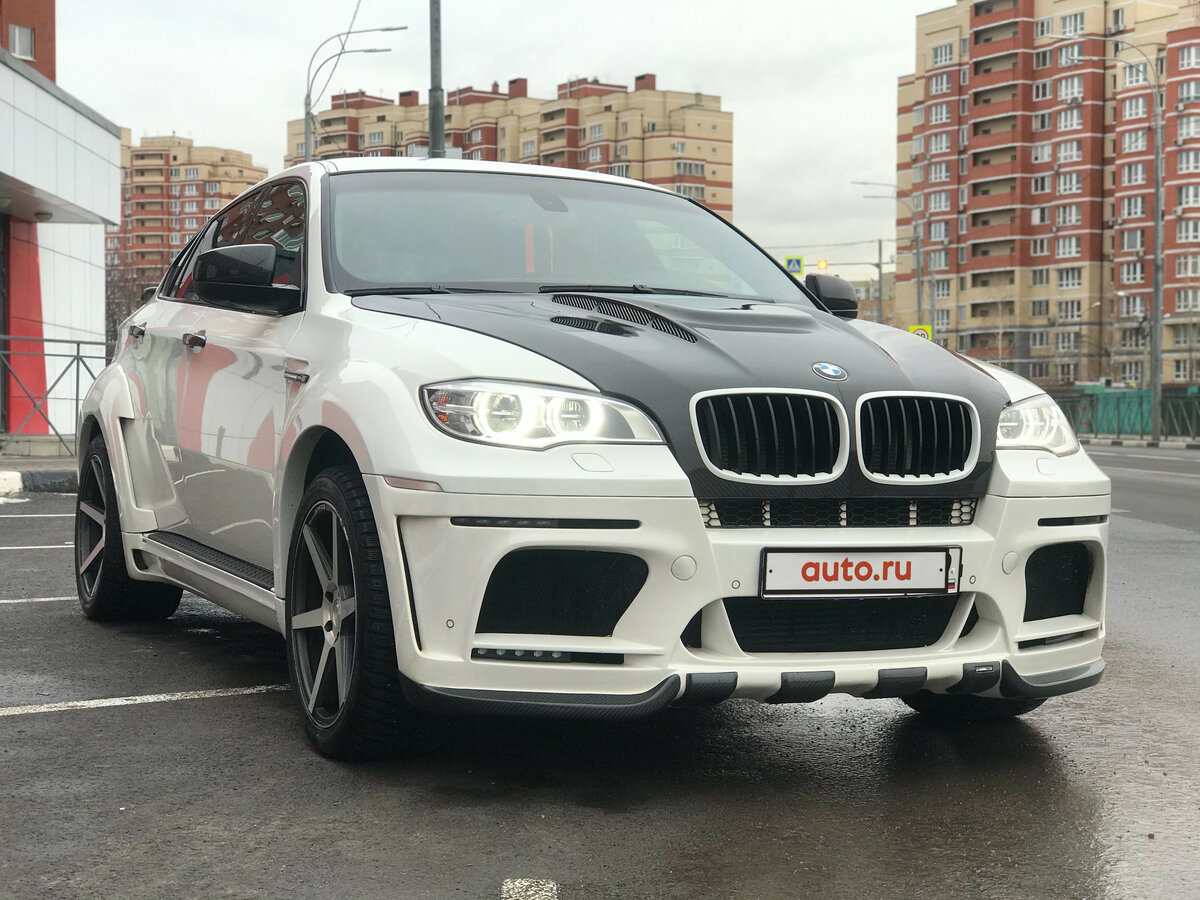 Купить б/у BMW X6 I (E71) 30d 3.0d AT (245 л.с.) 4WD ...