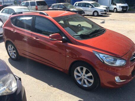 Купить Hyundai Solaris пробег 125 400.00 км 2012 год выпуска