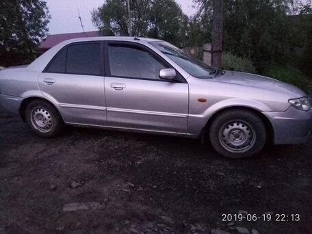 Купить Mazda Familia пробег 361 888.00 км 2002 год выпуска