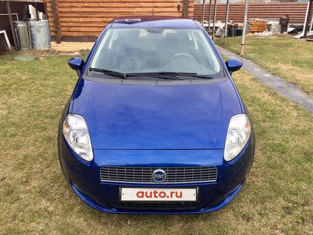 Купить FIAT Punto пробег 105 000.00 км 2007 год выпуска
