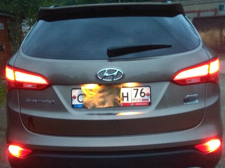 Купить Hyundai Santa Fe пробег 135 600.00 км 2013 год выпуска