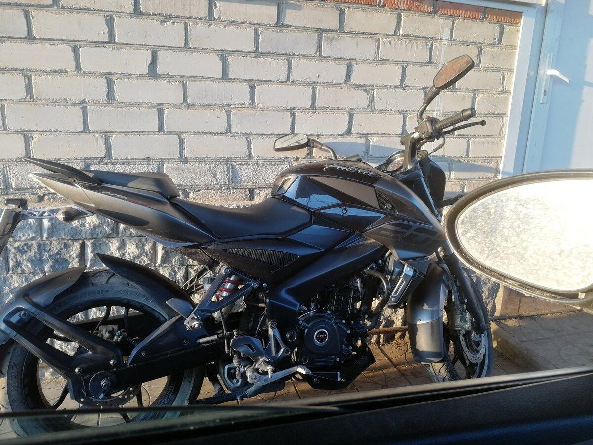 Купить б/у Bajaj Pulsar NS 200 карбюратор 6 передач в