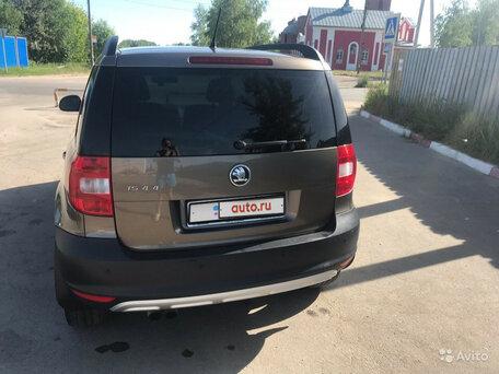Купить Skoda Yeti пробег 101 000.00 км 2012 год выпуска