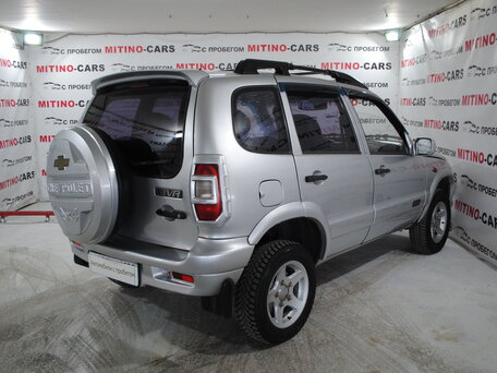 Купить Chevrolet Niva пробег 130 000.00 км 2007 год выпуска