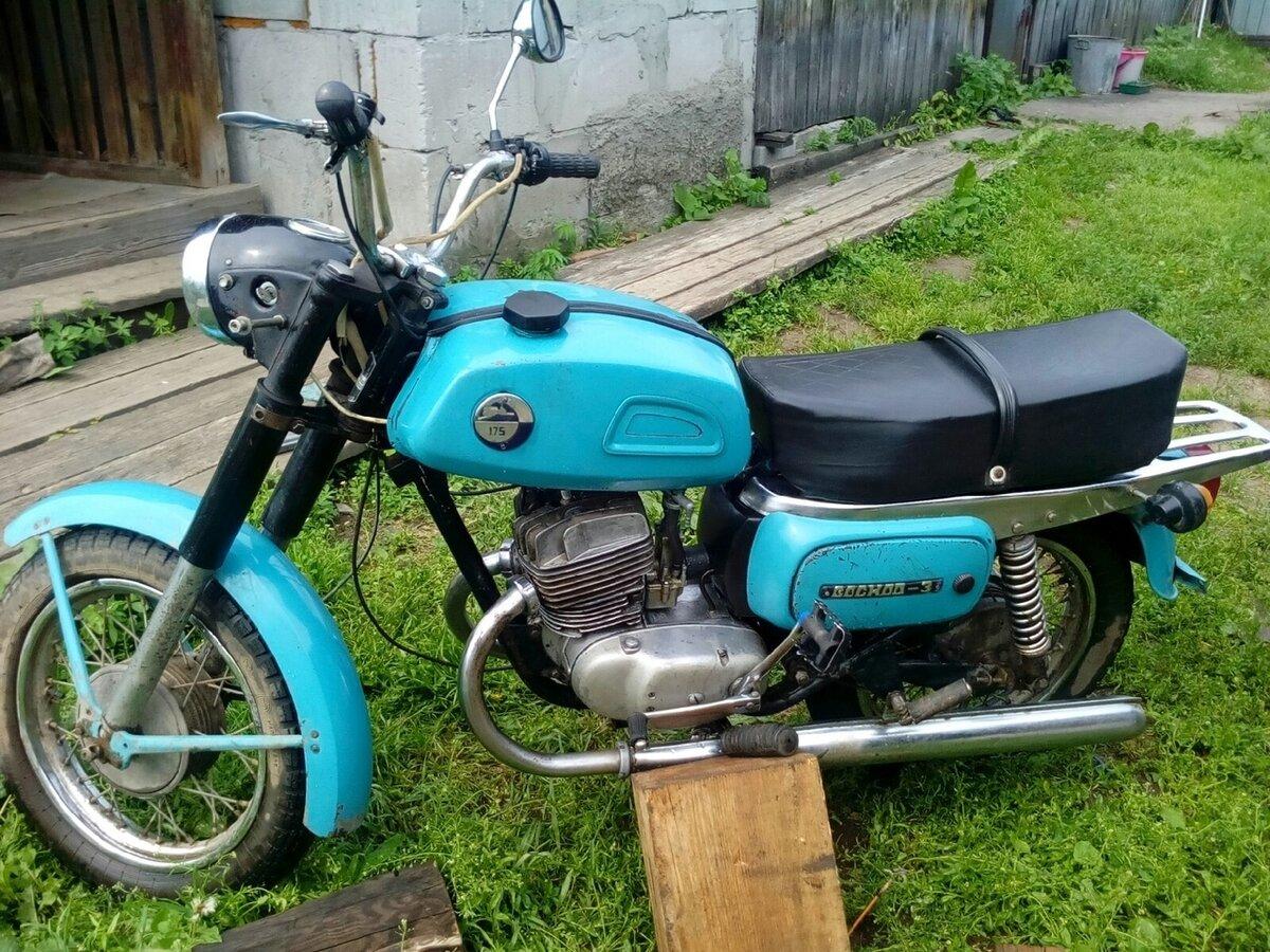 Картинка восхода мотоцикла