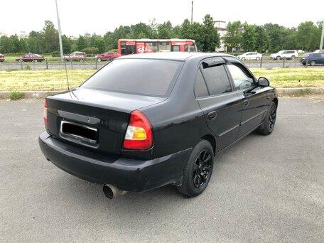 Купить Hyundai Accent пробег 150 000.00 км 2007 год выпуска