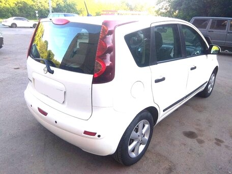Купить Nissan Note пробег 104 000.00 км 2011 год выпуска