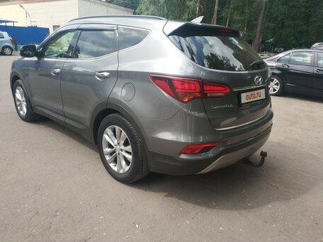 Купить Hyundai Santa Fe пробег 46 000.00 км 2016 год выпуска
