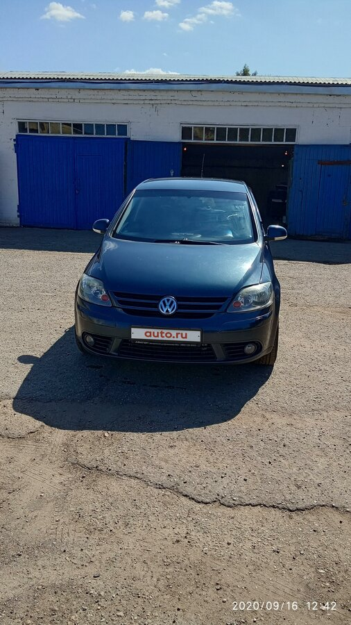 2006 Volkswagen Golf V, синий, 330000 рублей
