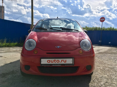 Купить Daewoo Matiz пробег 106 000.00 км 2005 год выпуска