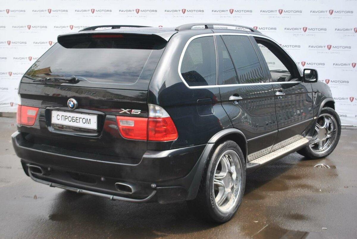 Купить б/у BMW X5 I (E53) Рестайлинг 4.8is 4.8 AT (360 л.с ...